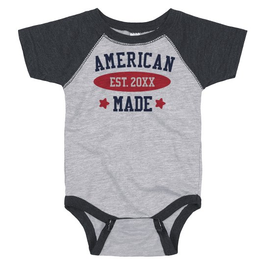 Customizable Fourth of July Bodysuit