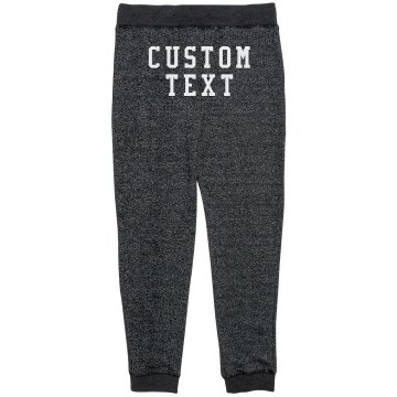 Customizable French Terry Pants