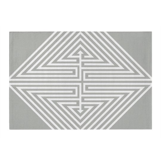 Customizable Geometric Area Rug