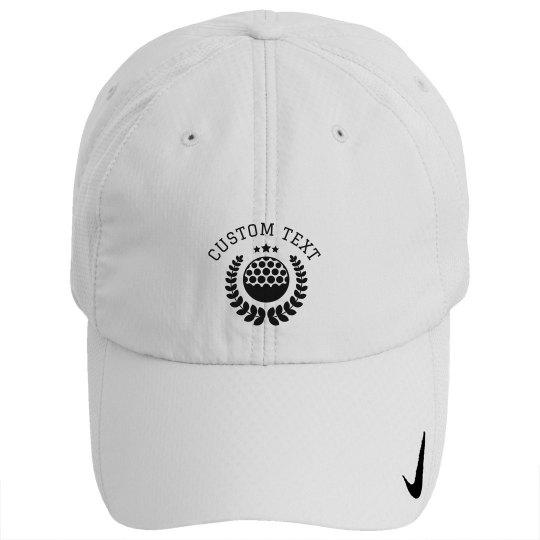 Customizable Golf Hats
