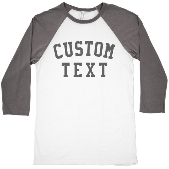Customizable Group Raglan Tees