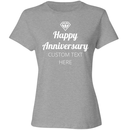 Customizable Happy Anniversary