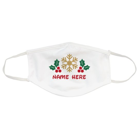 Customizable Holiday Face Masks
