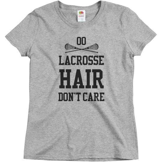 Customizable Lacrosse Hair
