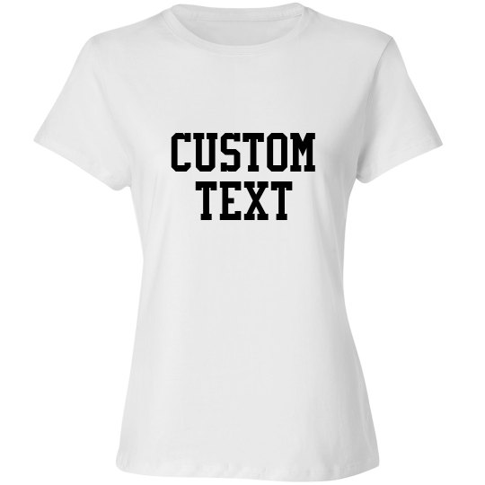 Customizable Long-Sleeve Tee