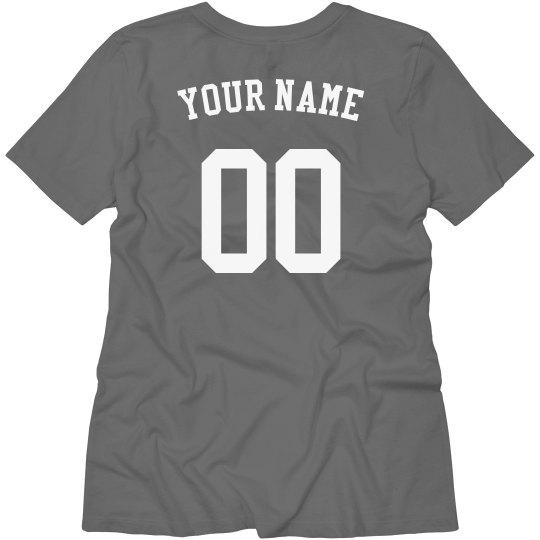 Customizable Name & Number