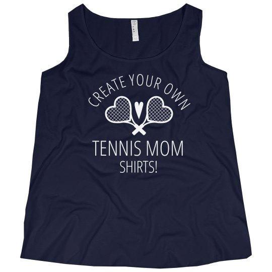 Customizable Plus Size Tennis Mom