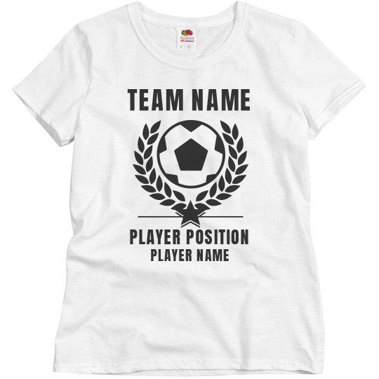 Customizable Soccer Shirt