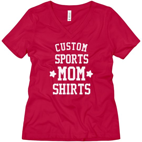 Customizable Sports Mom Boyfriend Tees