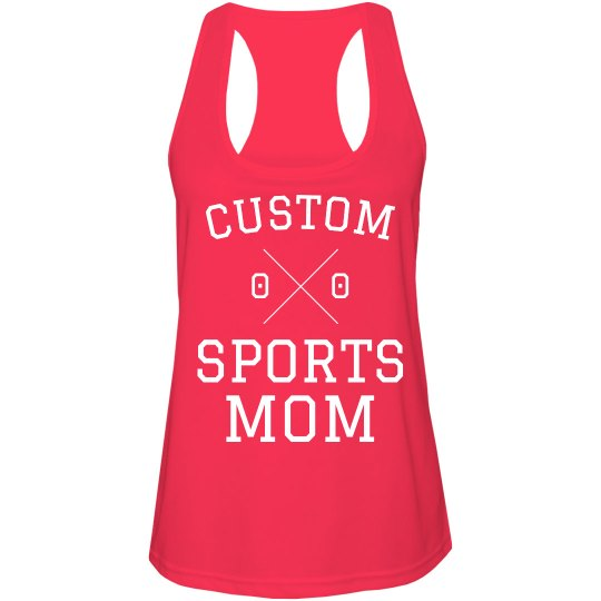 Customizable Sports Mom Racerback