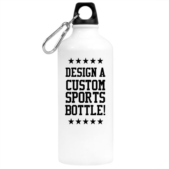 Customizable Sports Water Bottle