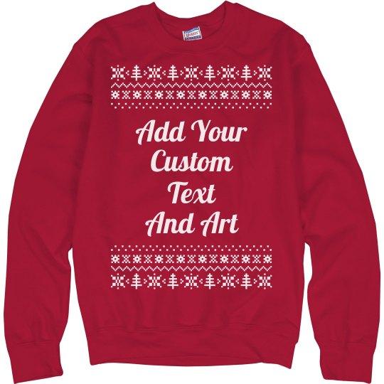 Customizable Ugly Christmas Sweater