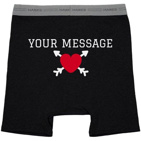 Customizable Valentine's Day Boxer Briefs