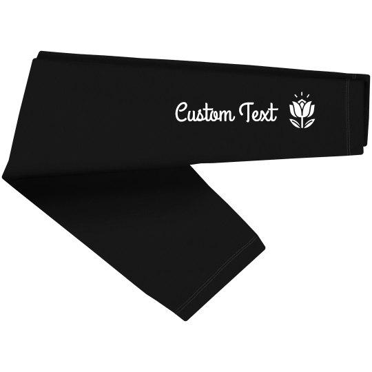 Customizable Yoga Studio Lotus Leggings