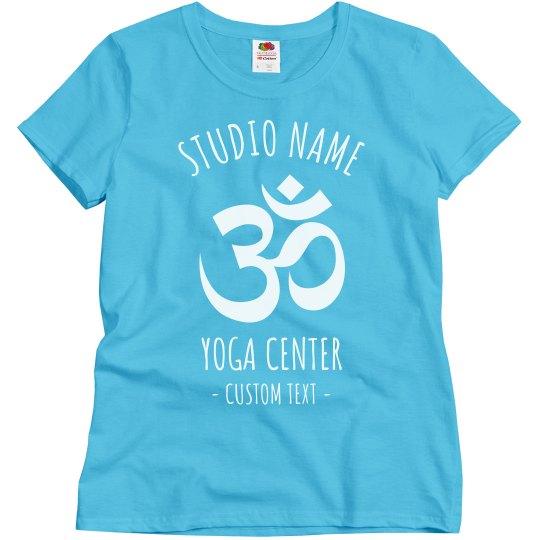 Customizable Yoga Studio Tees