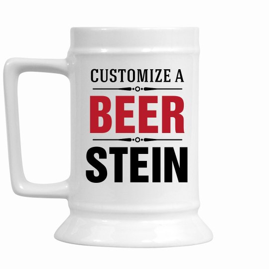 Customize A Beer Stein