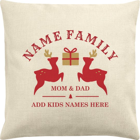 Customize A Christmas Family Gift