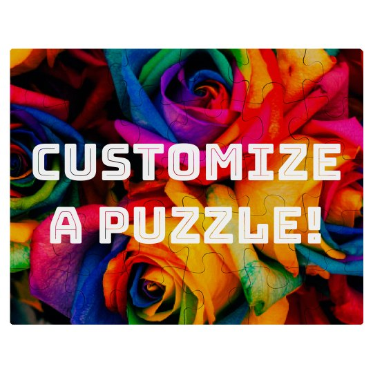 Customize A Puzzle With Art & Text