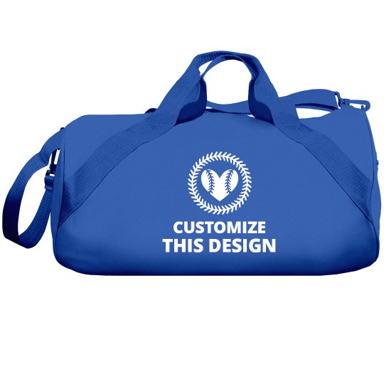 Customize A Softball Mom Bag