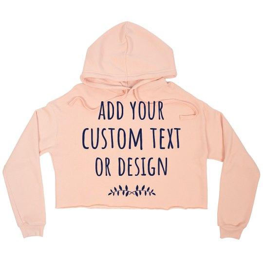 Customize A Trendy Sweater Tee