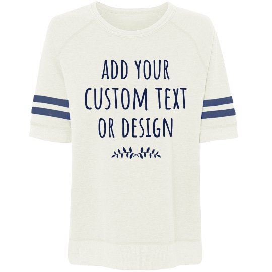 Customize A Trendy Sweater Tee