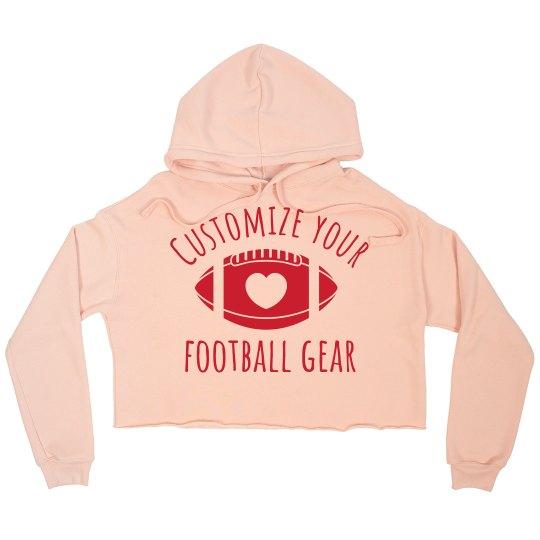 Customize Football Sweatshirts
