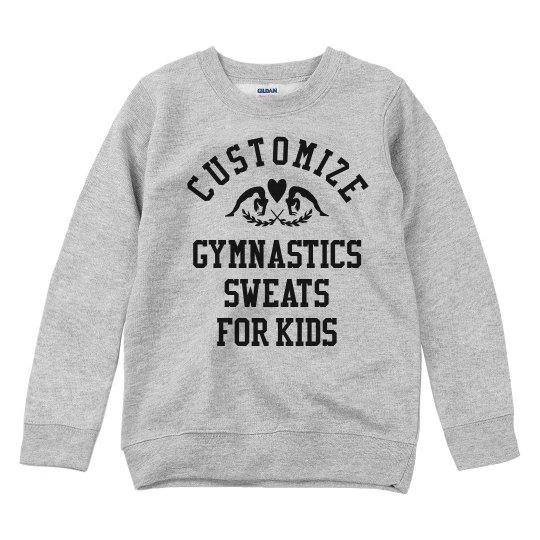 Customize Gymnastics Sweats for Kids