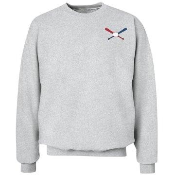 Customize softball sweatshirt