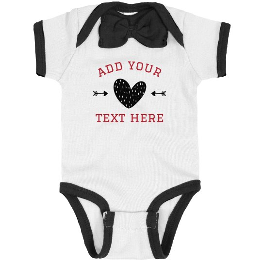 Customize Your Baby Heart Design