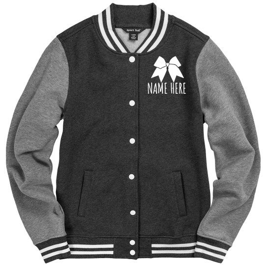 Customize Your Own Cheer Jacket