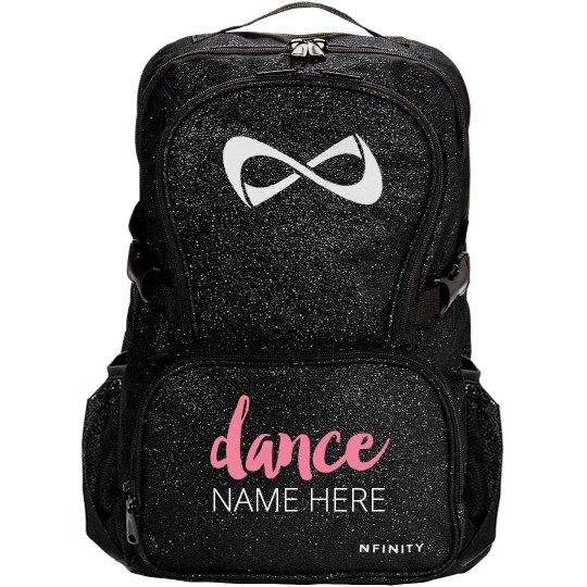 Customize Your Own Dance Bag Nfinity Black Sparkle