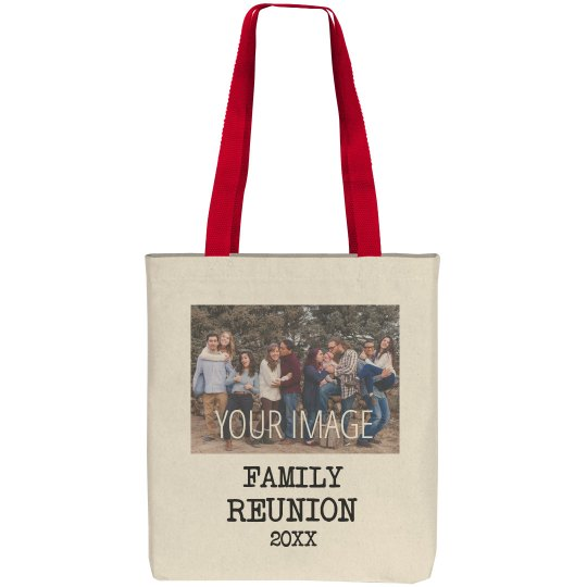 Customize Your Own Family Tote Bag