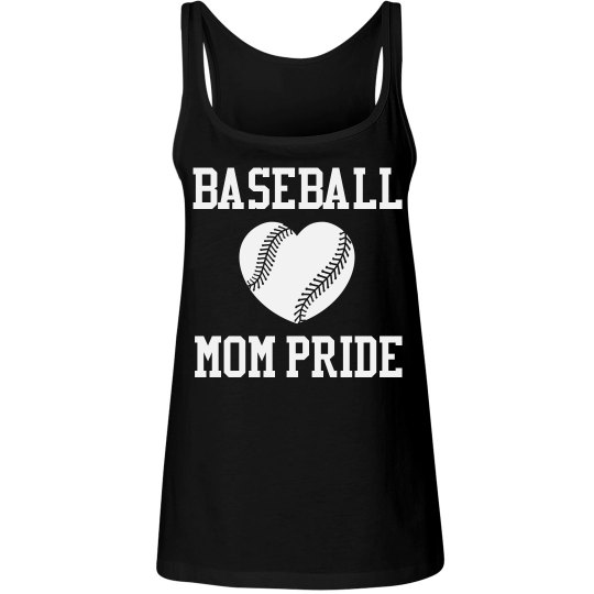 Customizeable Baseball Mom Pride Tank Tops