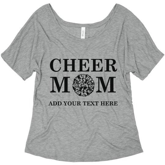 Customized Cheer Mom
