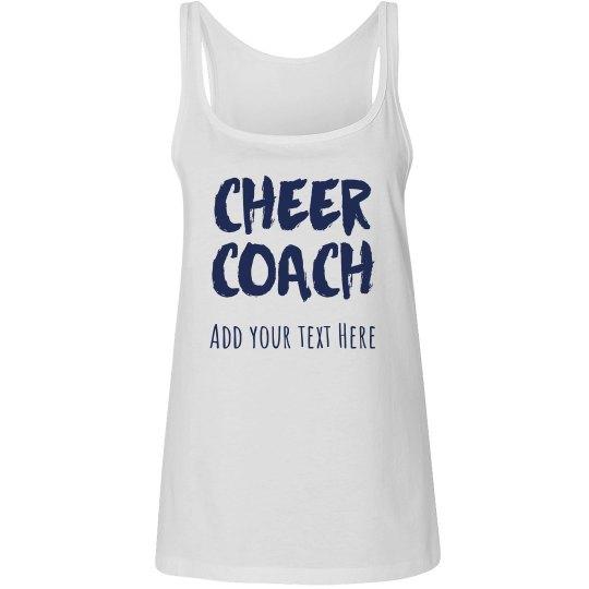 Customized Cheerleading Coach