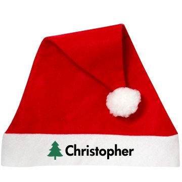 Customized Santa Hat