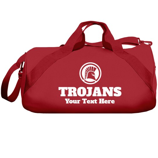 Customized Trojans Duffel Bags