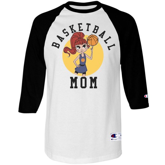 Cute Basketball Mom
