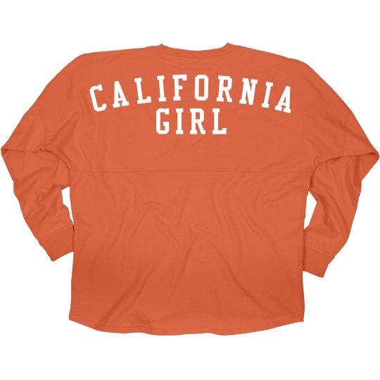 Cute California Girl Jersey