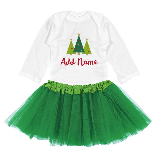 Cute Christmas Baby Outfit Custom