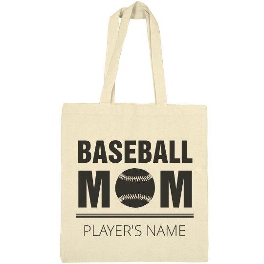 Cute Custom Baseball Mom