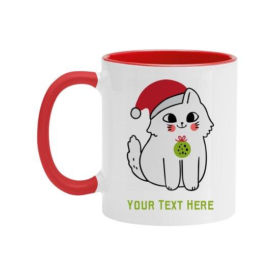 Cute Custom Kitty Gift Mug