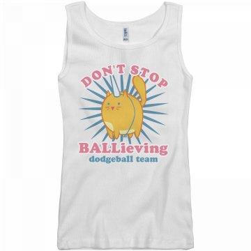 Cute Dodgeball Design