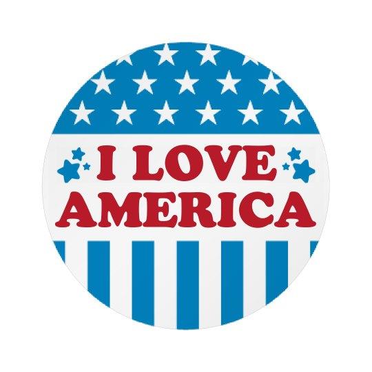 Cute I Love America 4th Of July