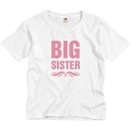 Cute I'm The Big Sister