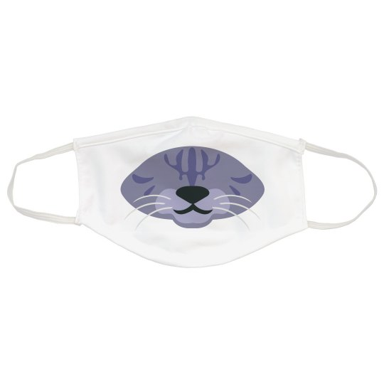 Cute Kitten Mouth Mask