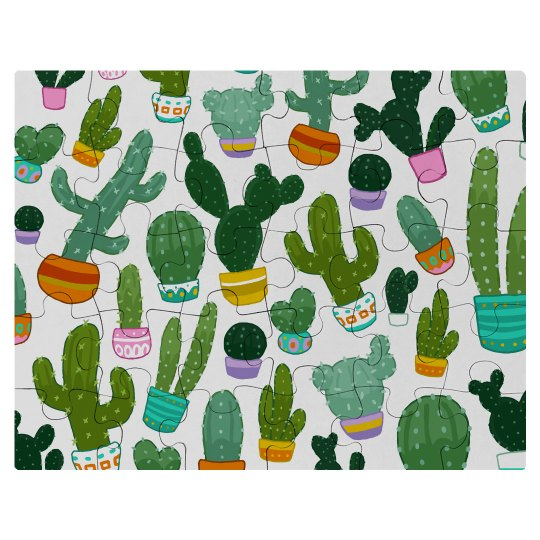 Cute Little Cacti All Over
