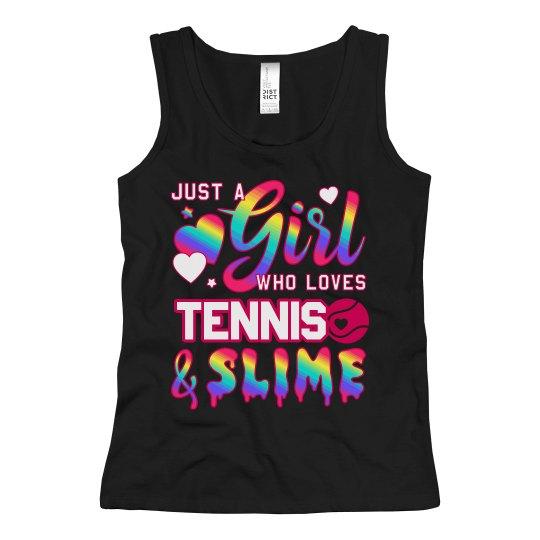 Cute Little Girl Tennis Player Gift