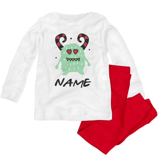 Cute Love Monster Toddler Valentine