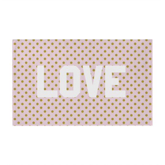 Cute Love Polka Dots Pattern
